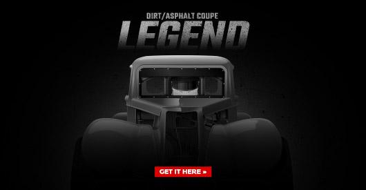 DirtAsphalt Coupe Legend Template School Of Racing Graphics