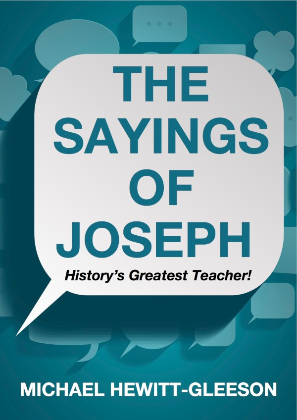 Joseph Sayings Cover-iPhone