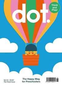 Dot magazine for infants aged 2-6