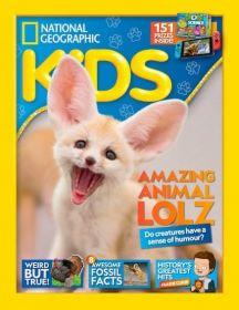 National Geographic for Kids magazine for juniors aged 7-12