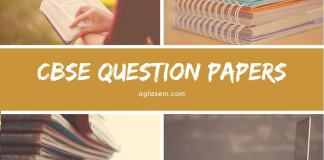 CBSE Question Papers