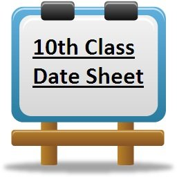 10th Exam Time Table 2017