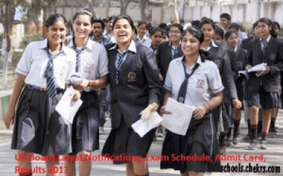 UP Board High School Time Table 2017, UPMSP 10th Date Sheet Released