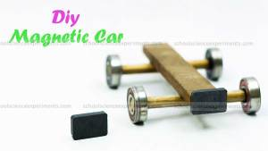 how to make magnet car