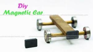 Simple magnetic car