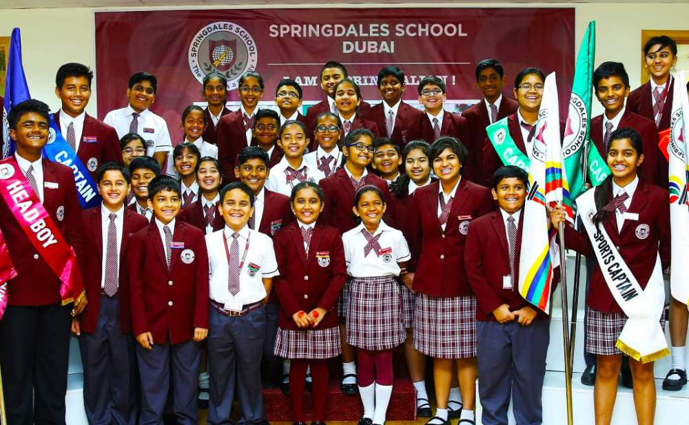 Springdales School children