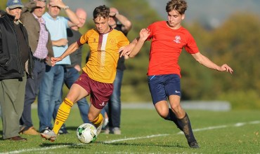 Summerhill School v Thomas Telford School in a English Schools FA Under 16 Premier League Cup 1st Round match at Summerhill School on Thursday 4th October 2018 (c) Garry Griffiths | ThreeFiveThree Photography