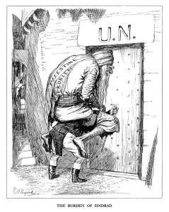 Punch Cartoon: The Burden of Sinbad