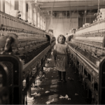 A child worker in a mill