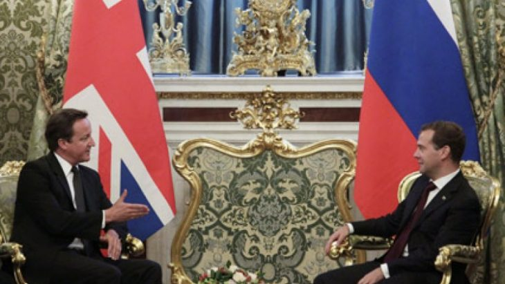British relationship with Russia