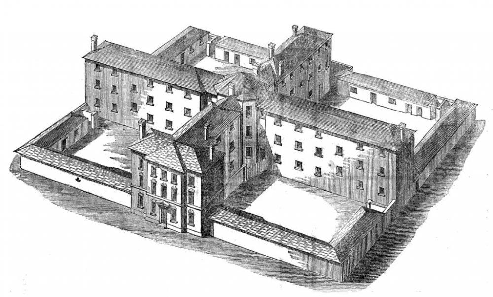 Workhouse design by Samuel Kempthorne