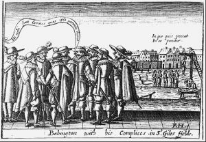 Babington and his team of plotters