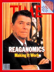 Reaganomics contributed to the Collapse of the USSR