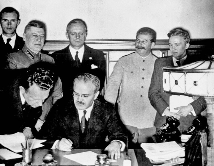 Signing of the Nazi-Soviet Pact