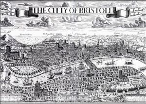 Ports such as Bristol grew rapidly as a result of Empire, Slavery and increasingly global trading patterns