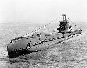 British S Class Submarine