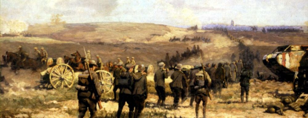 The Battle of Amiens 8th August 1918