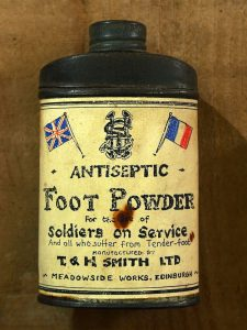 Foot Powder designed to tackle Trench Foot