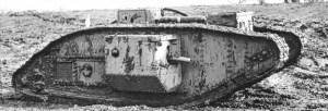 Mark V British Tank