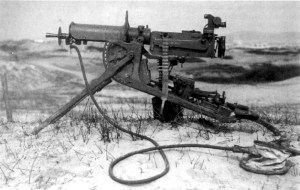 German Machinengewehr 08 Machine Gun