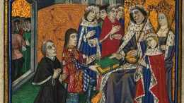 Henry VI suffered a state of Catatonia during his reign which incapacitated him.