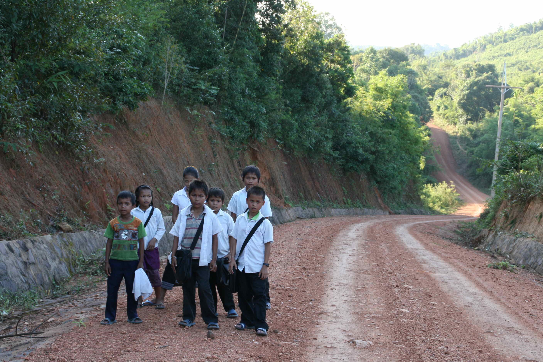 lang skolevei