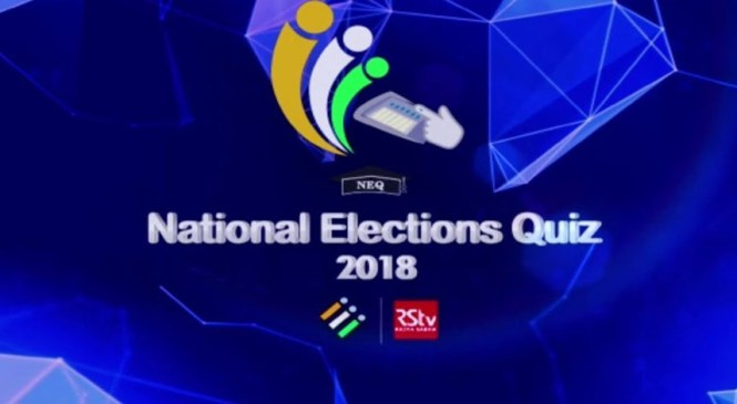 National Election Quiz 2018 Draws to a close with Record 13.63 Laks Participation