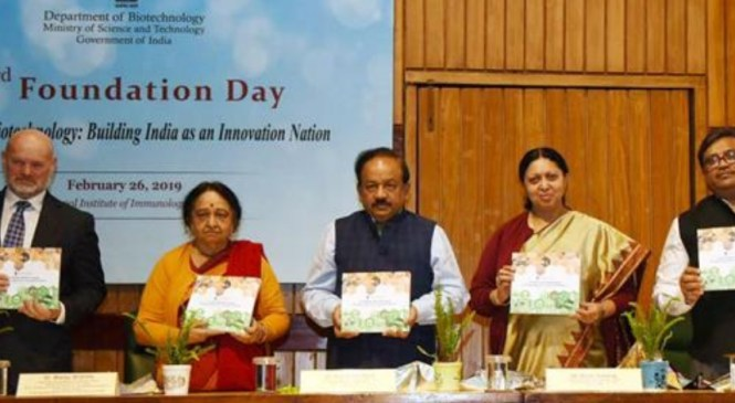 Key missions launched on foundation day of Department of Biotechnology