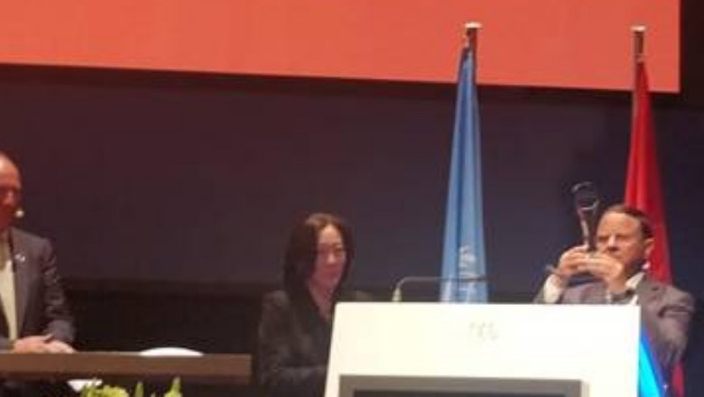 UNDRR Confers Dr P.K. Mishra Addl Principal Secy to PM With Prestigious Sasakawa Award 2019