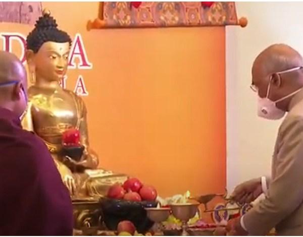 Buddha's message serves like a beacon : Ram Nath Kovind