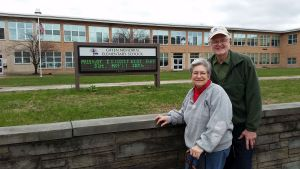 My hosts, Debbie & Eric Fagans, gave me a tour of the Giffen Elementary School's neighborhood.
