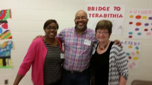 I was excited to meet Lesa Cline-Ransome and James Earl Ransome. Their books are fabulous!