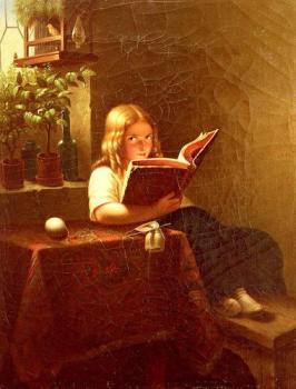 The-Reading-Girl-1-Johann-Georg-Meyer-Von-Bremen-Oil-Painting-LP03353