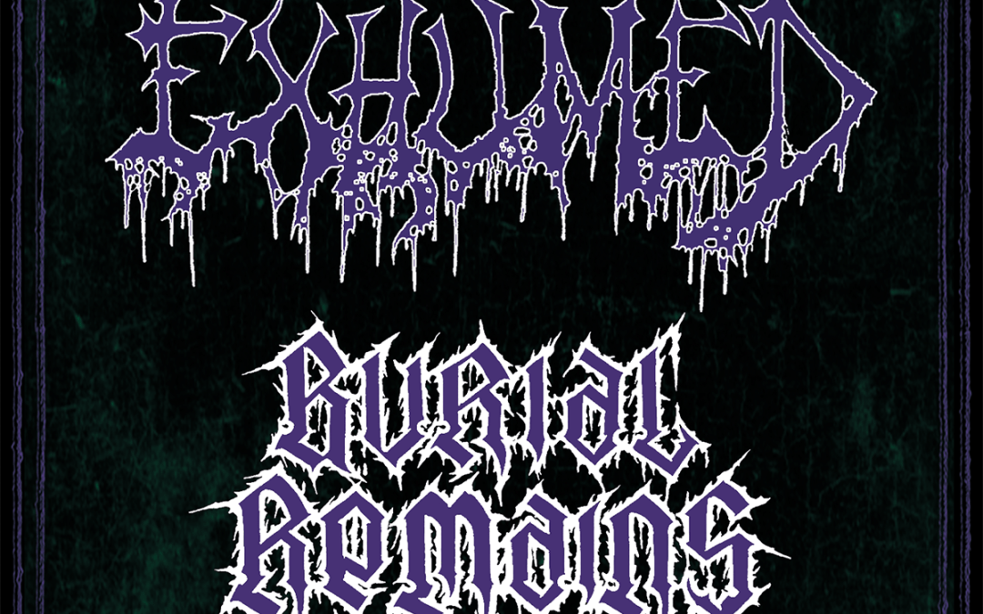 Exhumed (USA), Burial Remains (NL), Demored (GER) confirmed for SDF 2020