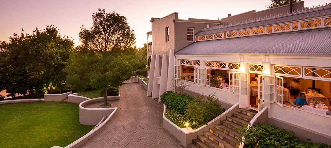 The Conservatory Restaurant at Schoone Oordt