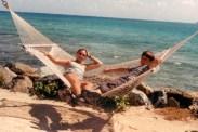 lounging on Saba rock, Virgin Gorda, BVIs