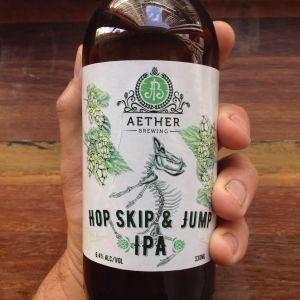 Hop Skip & Jump IPA by Aether Brewing