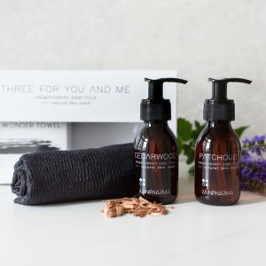 cedarwood patchouli body wonder towel giftset rainpharma