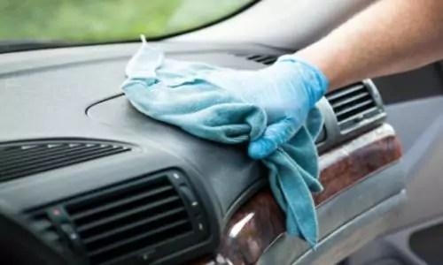 dashboard auto schoonmaken feat