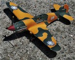 The beloved Flying Tigers' P-40 Warhawk, this 1/72-scale version by Academy.