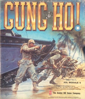 """The """"Gung Ho"""" Module of the Advanced Squad Leader series, which includes counters to represent Chinese forces and two scenarios based on Chinese actions."""