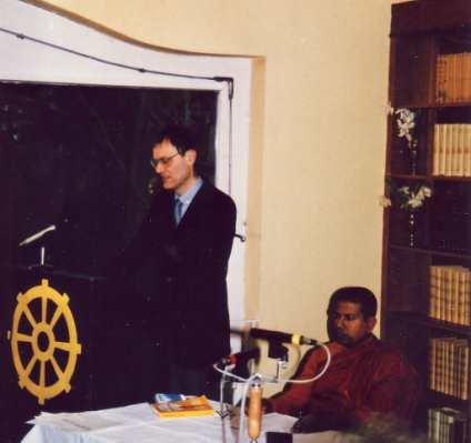 Herbert Becker im Buddhistischen Haus