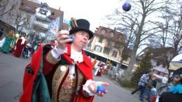 Der jonglierende Zunftmeister