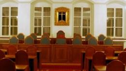 Der Kantonsratssaal im Rathaus in Sarnen