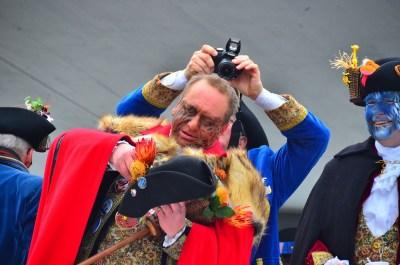 Thomas III. Zanker eröffnet die Fasnacht unter dem Motto Afrika