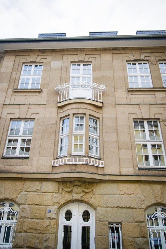 Denkmalsanierung Hugo-Preuß-Str. 34
