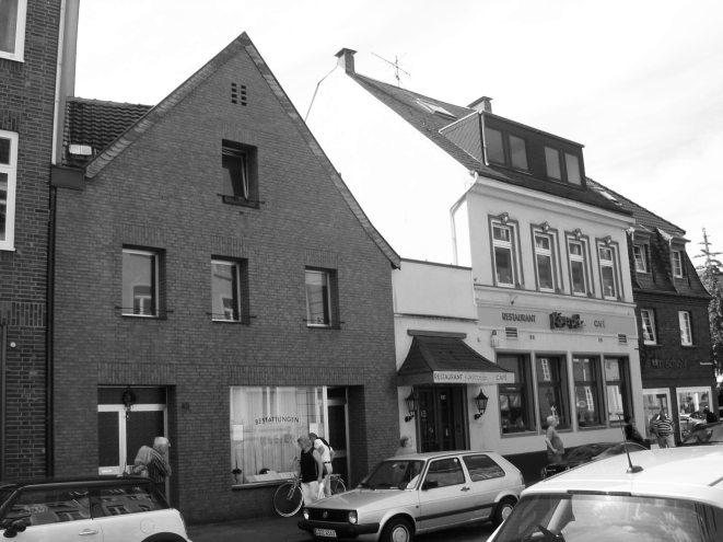 Kaiserswerther Markt - Vorher