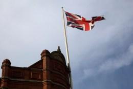 301 Union flag in Denton web
