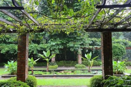 entry to a garden