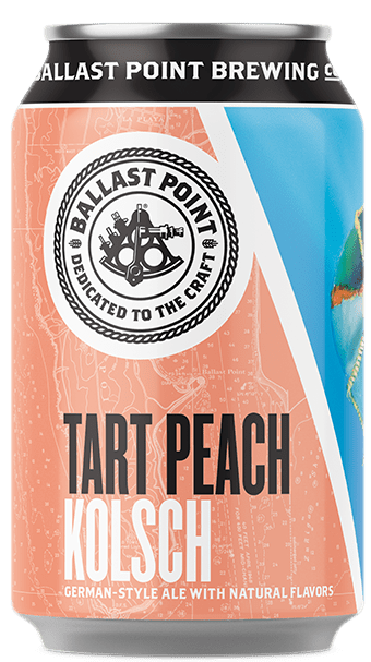 Ballast Point Tart Peach Kolsch Image